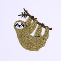 アイロンワッペン【ナマケモノ Sloth】ドイツ