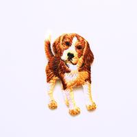 アイロンワッペン【パピー ビーグル】アメリカ