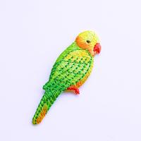 アイロンワッペン【インコ 文鳥 bird】アメリカ