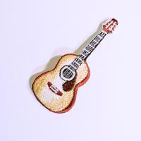 アイロンワッペン【アコースティックギター guitar】アメリカ