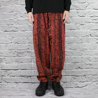 90S REEBOK OVERALL PATTERN EASY PANTS