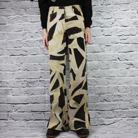 PATCHWORK FLERE PANTS