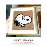CORRUPTED DOG by CELIPE PERROLOCO One of a Kind Art from CORRUPTED POP Collection 世界 限定 1枚