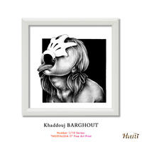 """Number 1/10 Series: """"NOSTALGIA II"""" Fine Art Print by KHADDOUJ BARGHOUT 世界 限定 33枚"""