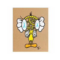 FAKE TWEETY by CELIPE PERROLOCO - One of a Kind Art アートペイント 世界中で1点のみ