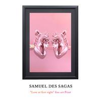 """11時間 限定予約発売 """"Love at first sight"""" fine art Print by Samuel de Sagas 世界30枚限定"""
