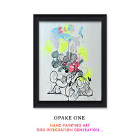 OPAKE ONE  -DISS INTEGRATION GENERATION -  One of a Kind SKETCHES ART アート グラフィティ