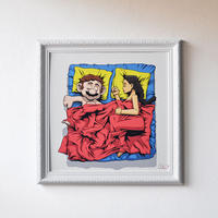 Sleeping Together-BONUS Edition fine Art Print by RX STRIP