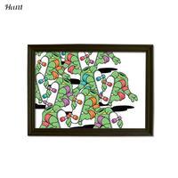 Second Series JARRIX  ART POSTER ジャリックス Turt××× グラフィック アート ポスター A3サイズ