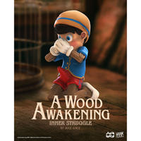 {Pre-order} 残り予約可能数 2枠 A WOOD AWAKENING : INNER STRUGGLE BY JUCE GACE フィギュア アートトイ