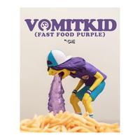 Vomit Kid Fast Food by OKEH (PURPLE EDITION)  フィギュア マクドナルドMcDonald's  ファイナルカラー