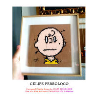 CORRUPTED Charlie Brown by CELIPE PERROLOCO One of a Kind from CORRUPTED POP Collection 世界 限定 1枚