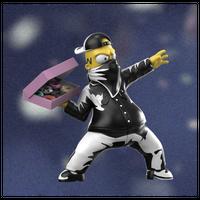 Donut Bomber by Ndikol フィギュア シンプソンズ バンクシー フラワーボンバー FLOWER BOMBER