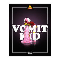 Vomit Kid Fast Food by OKEH (PINK EDITION)  フィギュア マクドナルドMcDonald's