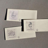 Museum exhibits.  Envelope set