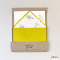 活版印刷のレターセット  HLS-059 ミモザ