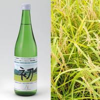 令和元年産「にこまる」2kg+オリジナル純米吟醸酒「初」セット