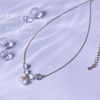 14kgf・glas dome×czネックレス