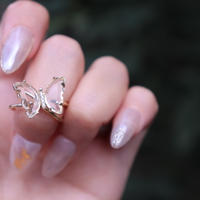spin butterfly ring