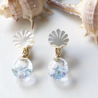 shell×Sea blue