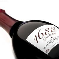 ノンアルコールシャンパン「1688 Grand Rose 750ml」(箱なし)