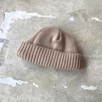 "crepuscule ""knit cap"" / クレプスキュール ""ニットキャップ"" (キャメル)"