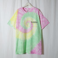 """VOTE MAKE NEW CLOTHES """"TieDye Print Tee"""" / ヴォートメイクニュークローズ """"タイダイプリントT""""(ピンク)"""