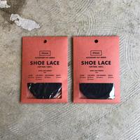 """PRAS """"SHOE LACE"""" / プラス """"シューレース"""" (ブラック)"""