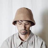 """RACAL """"Knit Bucket Hat"""" / ラカル""""ニットバケットハット"""" (ベージュ)"""