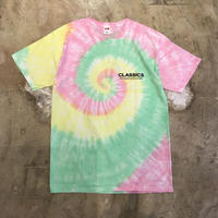 "VOTE MAKE NEW CLOTHES ""TieDye Print Tee"" / ヴォートメイクニュークローズ ""タイダイプリントT""(ピンク)"