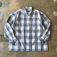 "■お問い合わせ商品■ Marvine Pontiak Shirt Makers ""Side Vents Shirts"" (グレーチェック)"