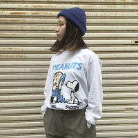 """VOTE MAKE NEW CLOTHES """"SNOOPY L/S TEE""""/ヴォートメイクニュークローズ""""スヌーピーロングTシャツ"""""""