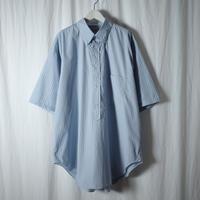 """■お問い合わせ商品■ Marvine Pontiak Shirt Makers """"B.D. PO SH"""" (サックスストライプ)"""