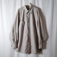 """■お問い合わせ■Marvine Pontiak Shirt Makers """"Military SH"""" (ベージュミニグラフ)"""