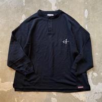 """■お問い合わせ商品■ gourmet  jeans """"ヘンリーネックスウェット""""(ブラック)"""