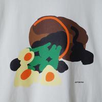 """COTTON PAN """"flower L/S"""" / コットンパン """"フラワーロンT"""""""