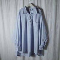 """■お問い合わせ■Marvine Pontiak Shirt Makers """"Auggie P/O  SH"""" (ブルーストライプ)"""