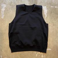 "crepuscule ""wholegarment vest"" / クレプスキュール ""ホールガーメントベスト"" (ブラック)"