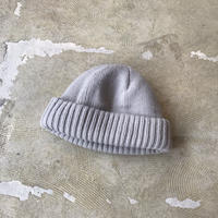 "crepuscule ""knit cap"" / クレプスキュール ""ニットキャップ"" (ライトグレー)"