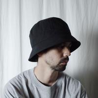 """RACAL """"Downbrim Bucket Hat"""" / ラカル""""ダウンブリムバケットハット"""" (ブラック)"""