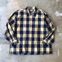 """■お問い合わせ商品■ Marvine Pontiak Shirt Makers """"Side Vents Shirts"""" (イエローチェック)"""