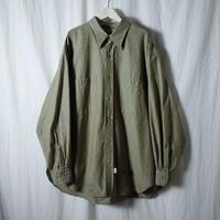 """■お問い合わせ■Marvine Pontiak Shirt Makers """"Military SH"""" (カーキシャンブレー)"""