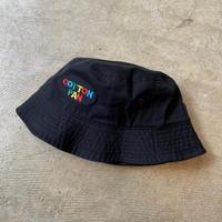 """COTTON PAN """"LOGO HAT"""" / コットンパン """"ロゴハット"""" (ブラック)"""