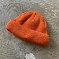 "RACAL ""21ss Roll Knit Cap"" / ラカル""ロールニットキャップ"" (オレンジ)"