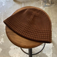 "RACAL ""Knit Metro Hat"" / ラカル""ニットメトロハット"" (ブラウン)"