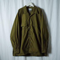 "■お問い合わせ商品■ Marvine Pontiak Shirt Makers ""Open Collar SH"" (カーキ)"