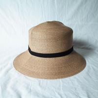 """bocodeco """"Paper Braid Rollable Hat"""" / ボコデコ""""ペーパーブレイドローラブルハット"""" (ベージュ)"""