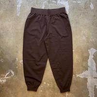"""crepuscule """"wholegarment pants"""" / クレプスキュール """"ホールガーメントパンツ"""" (ブラウン)"""