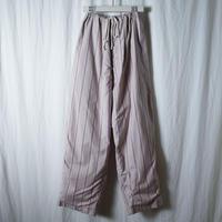 """■お問い合わせ商品■ Marvine Pontiak Shirt Makers """"Pajama Pants"""" (ベージュピンクストライプ)"""