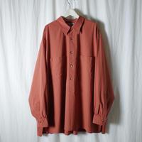 """■お問い合わせ商品■ Marvine Pontiak Shirt Makers """"Double Pocket P/O  SH"""" (柿)"""